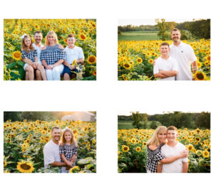 Petersburg Virginia Family Photography sunflowers 2