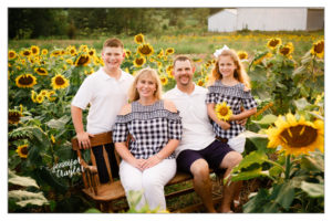Petersburg Virginia Family Photography sunflowers 4