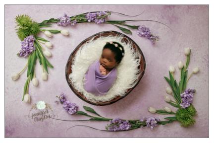 Newborn Photographer serving Ft. Lee and Prince George, VA